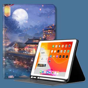 iPad 10.2インチ(第7世代/2019)ケース アイパッド カバー 手帳型 段階調整可能 スリープ機能付き pencil ペンシル スタンドタイプ