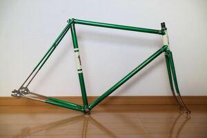 HOLDSWORTH イギリス製 ビンテージ ピスト パスレーサー 自転車フレーム フォークセット Nervex Reynolds 531 ナーベックス 英国 50年代?