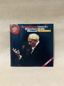 CD 蔵出し381【クラシック】ブルックナー:交響曲第5番/ギュンター・ヴァント(指揮)/ベルリン・フィルハーモニー cc105