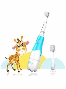 電動歯ブラシ、スマートLEDタイマー付きソニックテクノロジー搭載(青い)