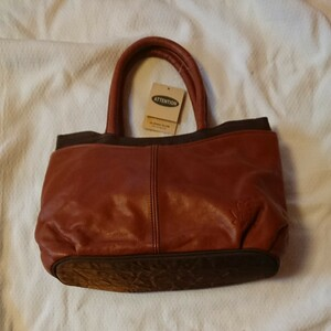匿名配送  送料無料 即日発送 価格の相談歓迎 藤原袋物 ATTENTION ハンドバッグ