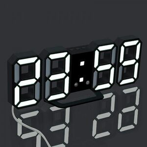 T127 『1PC 』S3レベルの明るさのLEDデジタル壁時計目覚まし時計壁掛け時計