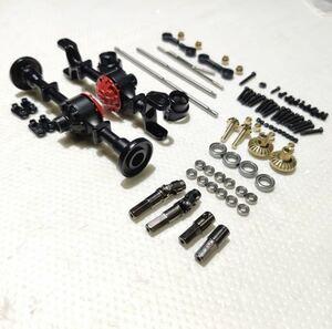 WPL D12 2WD→4WD アップグレード キットパック 金属ドライブシャフト 四駆オフロード改造 ラジコンカー 軽トラック スペアパーツ キャリー