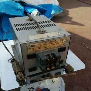 【中古】【ジャンク】アイホウ電器 株式会社 トランス トランスフォーマー 電源変圧器 TRANSFORMER ア