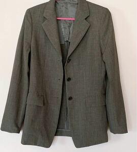 スーツ テーラードジャケット コムサデモード グレー