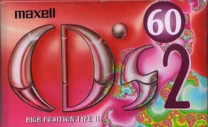 MAXELL CDS2-60L(オーディオカセットテープ) ハイポジテープ 日本製 【未使用:カセットテープ】№0779