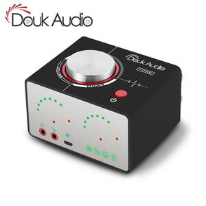 DOUK オーディオトーンハイファイの BLUETOOTH 5.0 TPA3116 デジタルパワーアンプ USB ミニステレオヘッドフォンアンプホームオーディオ