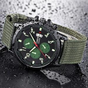 トップブランドの高級メンズ腕時計日付デザイナーファッションアーミー腕時計男性のための男性スポーツカジュアル時計リロイ HOMBRE