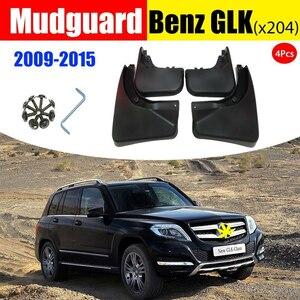 ベンツX204 GLK 200 260 300 350車のフェンダー泥フラップ自動ACCESSORIESMUDフラップスプラッシュガードマッドガード2008-2018