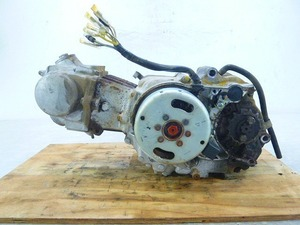 郵政カブ・MD50・(6V)★エンジン本体・初爆確認・25527km★H1A-1(160)