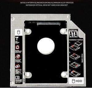 lenovo T540 T540P W540 W541 T400 T400S T500 W500 T410 T410I Iウルトラベース用HDDマウンタ SSDマウンタ SATA接続 9.5mm
