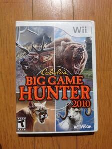 wii北米版 BIG GAME HUNTER 2010