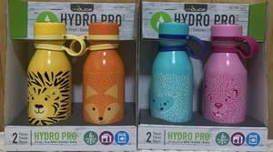 【4本】【全国送料無料】【新品】reduce HYDRO PRO 子供用 保冷専用 ステンレス製 水筒 414ml×4本 ステンレスボトル 魔法瓶 コストコ