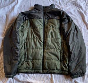 THE NORTH FACE ナイロンジャケット Sサイズ 中綿 ノースフェイス オリーブグリーン  保管品