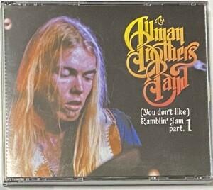 THE ALLMAN BROTHERS BAND (YOU DON'T LIKE) RAMBLIN'JAM PART.1 3CD
