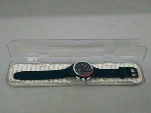 箱付き Swatch SUSN405 クロノグラフ クォーツ ケースサイズ 3.8cm ラバーベルト 風防小キズあり