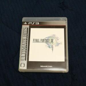【PS3】 ファイナルファンタジーXIII [アルティメットヒッツ]