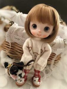 粘土 人形 オビツ11 創作人形 オリジナル ドール①