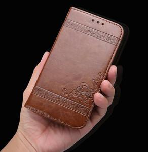 新品 送料無料 茶 ブラウン iPhone 11 iPhone XR 手帳型 ケース スマホ カバー カード 定期 収納 スタンド PU レザー シンプル 上品 高級感