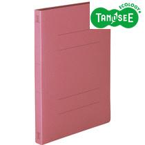 【未使用品】TANOSEE 丈夫なフラットファイル HD A4タテ 200枚収容 背幅23mm ピンク1セット10冊×10パック