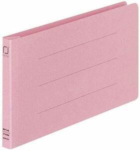 【未使用品】コクヨ フ-V49P 統一伝票用フラット328129011樹脂製とじ具B4 1/3横ピンク 10セット