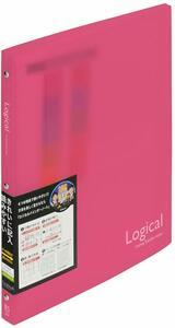【未使用品】ナカバヤシ ロジカルバインダーノート スリム B5 ピンク BN-B504A-P×9冊セット
