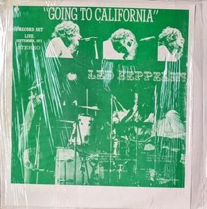 Led Zeppelin レッド・ツェッペリン - Going To California 二枚組アナログ・レコード