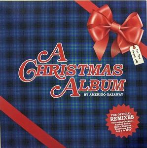 Amerigo Gazaway - A Christmas Album 限定レッド・カラー・アナログ・レコード