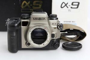 極美品|ミノルタ α-9 Ti SSM非対応 γY187-2C3