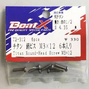 KAWADA BeatXチタン鍋ビス M3×12