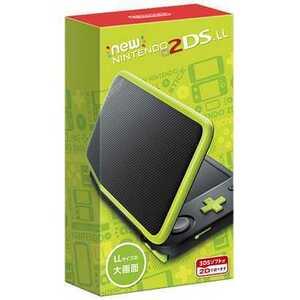 ニンテンドー2DSLL ★任天堂 Nintendo Newニンテンドー2DS LL♪ブラック×ライム[New 2DSLL本体]♪新品未使用