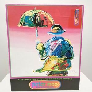 希少 !! PETER MAX 【 ピーターマックス ジグソーパズル 】90s USA 製 1999 雑貨 パズル サイケ ヒッピー デットストック アンティーク