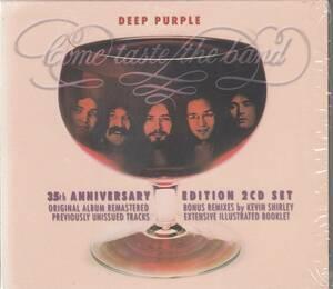 輸 Deep Purple ディープ・パープル Come Taste The Band 35th anniv.2CD◆規格番号■5099964786629◆送料無料■即決●交渉有
