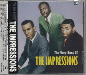 国 The Impressions The Very Best Of The Impresions インプレッションズ 未開封◆規格番号■PCD-3665◆送料無料■即決●交渉有