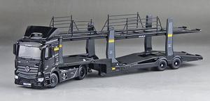 1:64 スケール トラックトランスポータートレーラー車のトランスポーターモデル