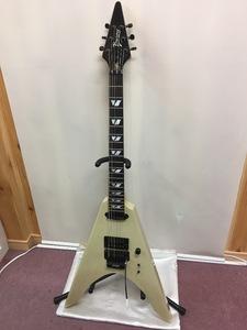 Burny [V-120S] フライングV モデル 中古 角傷有 エレキギター u40852