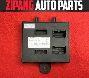 RU011 RH5F Renault Lutecia zen door control module *231A08869R * error less 0* prompt decision *