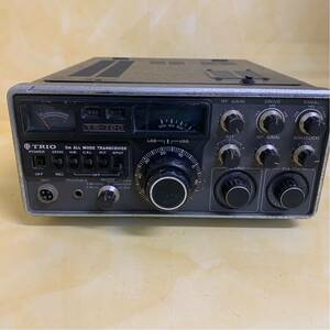O1)TRIO TS-700 2m オールモード無線機 動作未確認 ジャンク