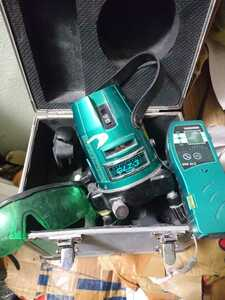 YAMASHIN GLZ-3 グリーンレーザー墨出し器 送料着払い
