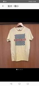 新品 水洗いのみ クロマニヨンズ ライブツアーTシャツ 即決 送料無料