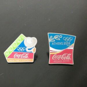 ピンバッジ コカ・コーラ オリンピック
