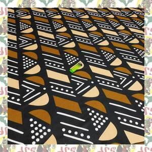 【SALE】アフリカンプリント生地 布 180cmx110cm(2ヤード) アフリカ布 アフリカ生地 アフリカ バティック ハンドメイド素材 barg-c30