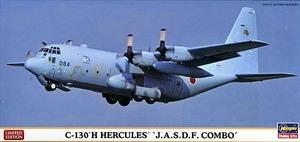 """ハセガワ 10699 1/200 C-130H ハーキュリーズ """"航空自衛隊 コンボ"""" 2機セット"""