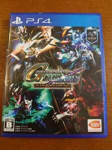 中古 PS4 SDガンダム ジージェネレーション クロスレイズ プレミアムGサウンドエディション
