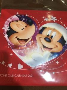◆ドコモ Disney ディズニ― 壁掛けカレンダー 2021◆未使用◆