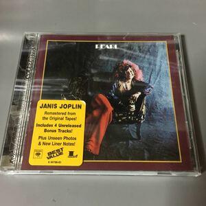 ジャニス・ジョプリン パール+4【リマスター盤】USA盤CD