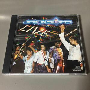 ジャクソンズ ライヴ USA盤CD