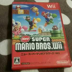 ニュースーパーマリオブラザーズWii Wiiソフト