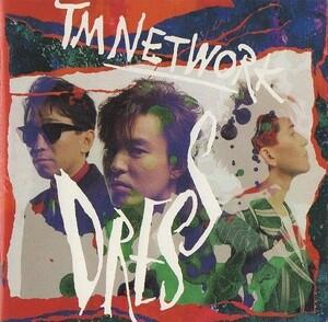 TM NETWORK TMネットワーク / DRESS ドレス / 1989.05.12 / リミックス・アルバム / 32.8H-5090