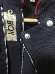 BOY ジップ ジャケット JKT ZIP LONDON ビンテージ PEEL&LIFT セディショナリーズ ヴィヴィアンウエストウッド RALEIGH バウンティー